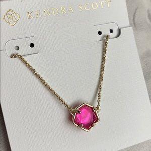 Kendra Scott Jaxon pendant - pink